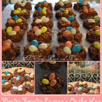 Chocolate Nests with Tiny Eggs!