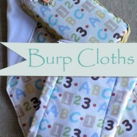 Easy to Make Burp Cloths!