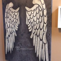 Angel Wings on Canvas!