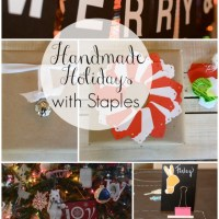 Handmade Holidays with Staples