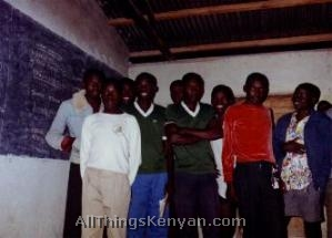 The Form Four (senior) classroom.