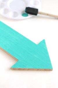 DIY Wood Arrow Jewelry Holder | All Things Target