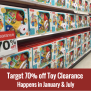 Target 70 Off Toy Clearance January July All Things