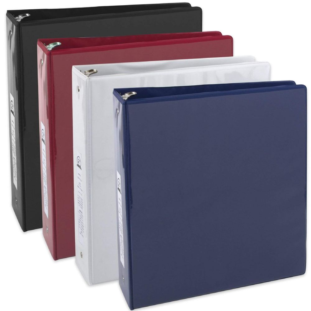 24 Units of 2 Inch Binder With Two Pockets - Assorted - Binders - at