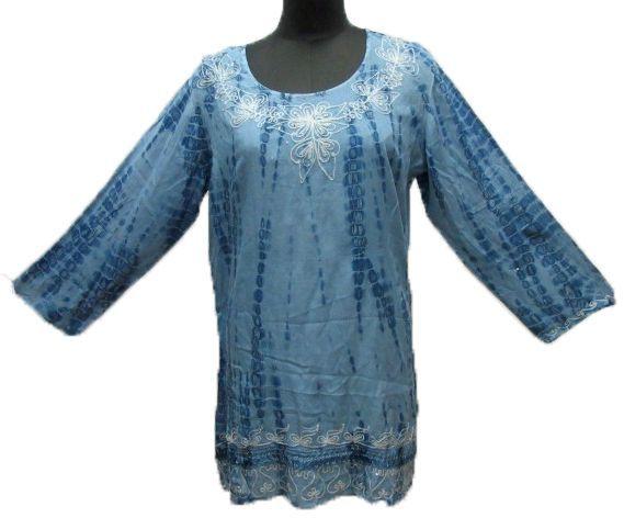36 Units of Women\u0027s Rayon Three-Quarter Sleeve Tunic Tops with