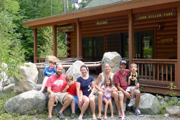 This crew highly recommends the accessible and immersive Adirondack's experience at John Dillon Park.