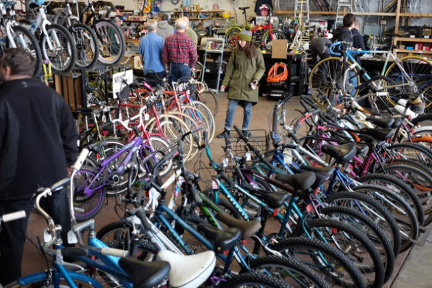 In our area, we are fortunate to have Second Life Bikes with a huge selection of used bicycles.
