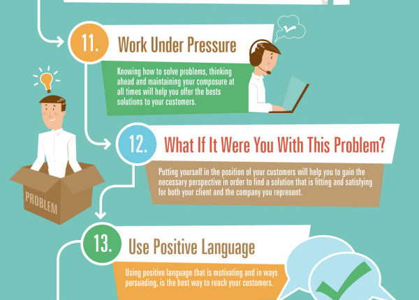 25 skills for excellent customer service infographic - Alltop Viral