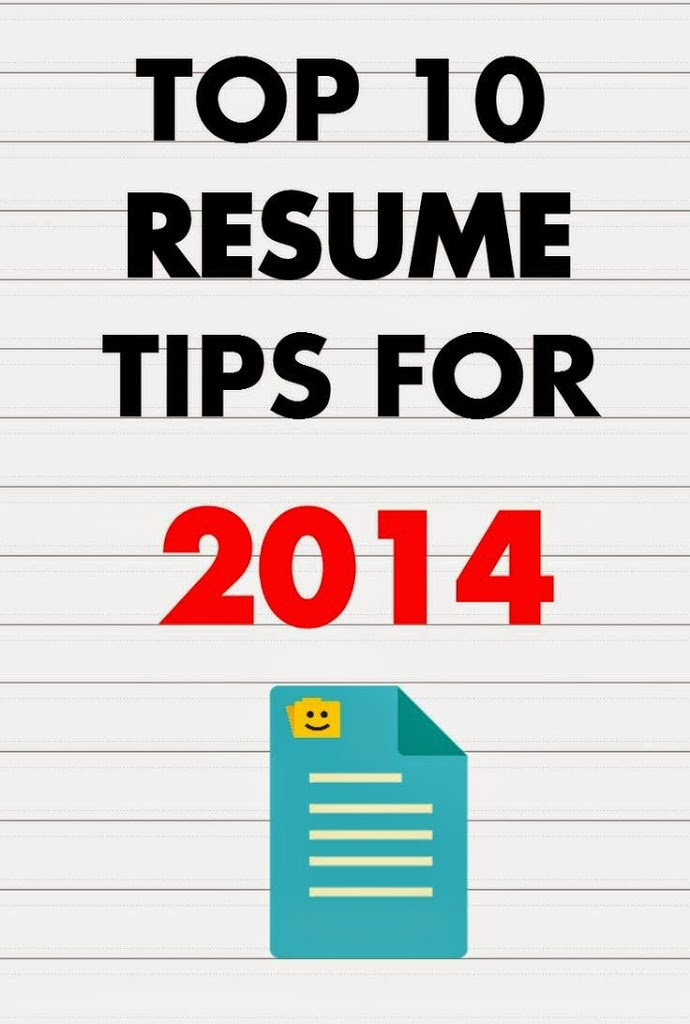 Top 10 tips for writing a resume for freshers/high school students