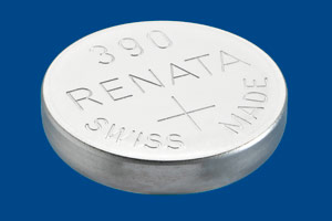 Renata 390 Sr1130sw Silver Oxide Battery 155v