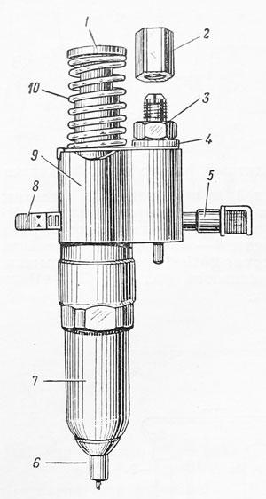 in line fuel filter 3 8