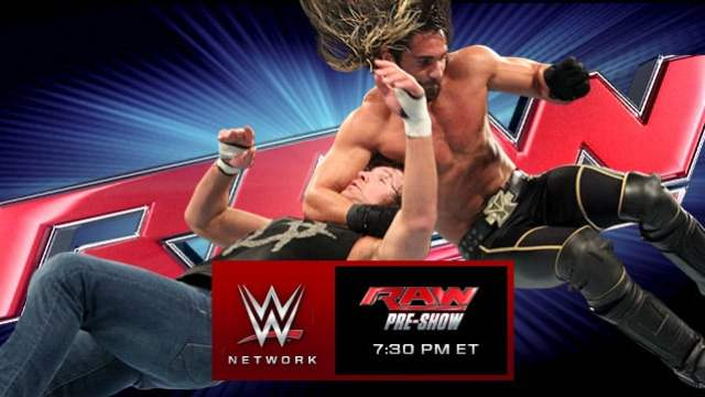 Watch WWE RAW 6/8/2015 Full Show Online 8th June 2015