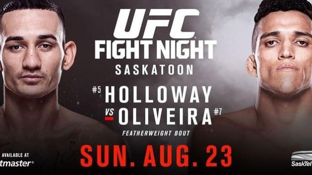 Watch UFC Fight Night: Holloway vs. Oliveira 8/23/2015 Full Show Online Free