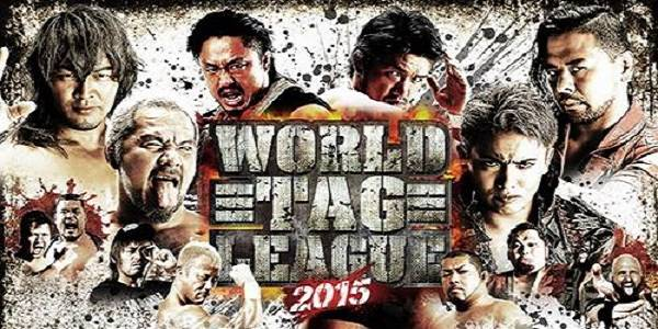 Watch NJPW World Tag League 2015 Day 1 Full Show Online Free