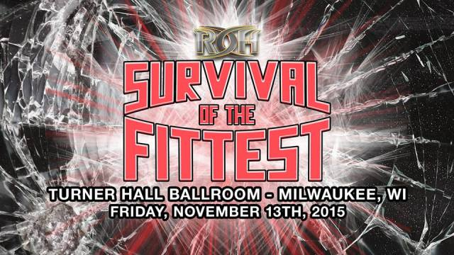 Watch ROH Survival of Fittest 2015 Full Show Online Free