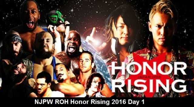 Watch NJPW ROH Honor Rising 2/19/2016 Day 1 Full Show Online Free