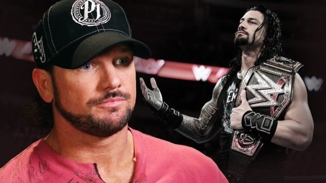 AJ Styles discusses Wrestlemania and Roman Reigns as his next Opponent