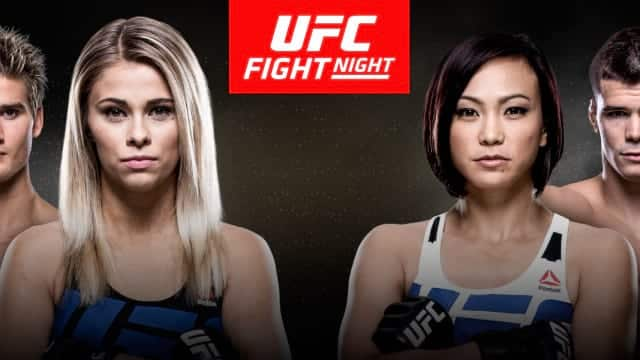 Watch UFC Fight Night: VanZant vs Waterson 12/17/2016 Full Show Online Free