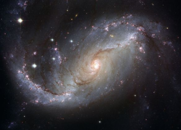 Galaxy image from NASA