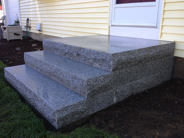 Outdoor Stairs And Stone Steps For Front Back Yard
