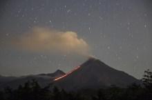 El volcán de Colima ha incrementado su actividad en los últimos días. Foto: cuartoscuro