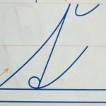 Slovak Handwriting Style
