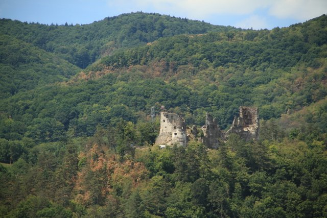 Ruined Castle in Slovakia - Almost Bananas