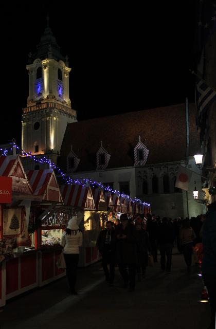 Chistmas Market in Bratislava, Slovakia