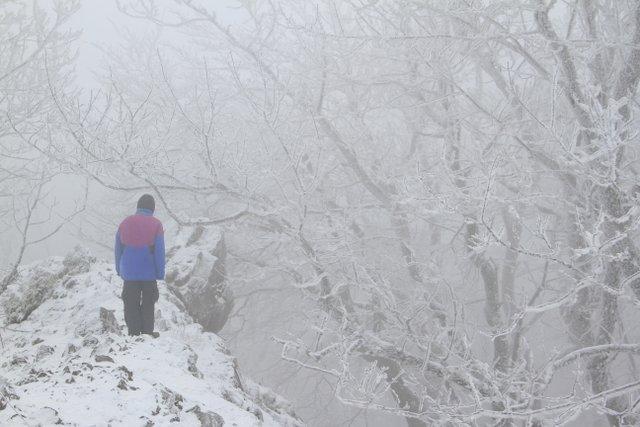 Zaruby in Winter, Slovakia