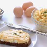 Slovak Style Egg Spread