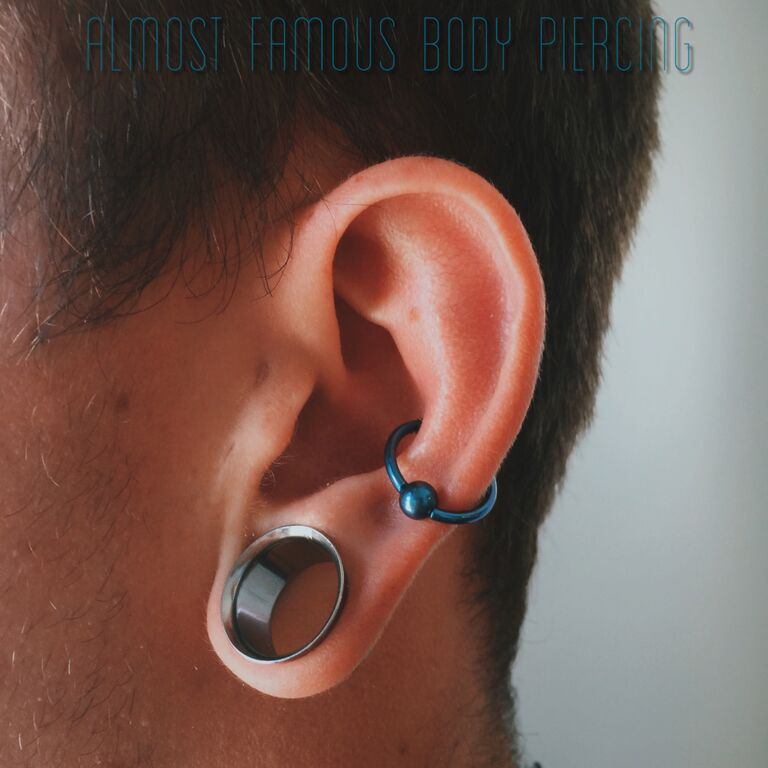 Ear Piercings as Acupuncture Therapy Almost Famous Body Piercing
