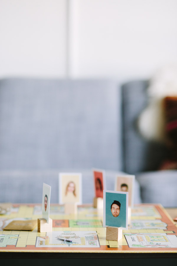 diy personalized game pieces  | almost makes perfect