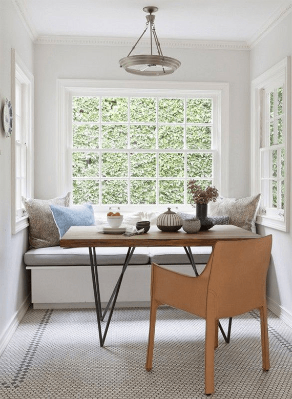 dream house ~ the breakfast nook   almost makes perfect