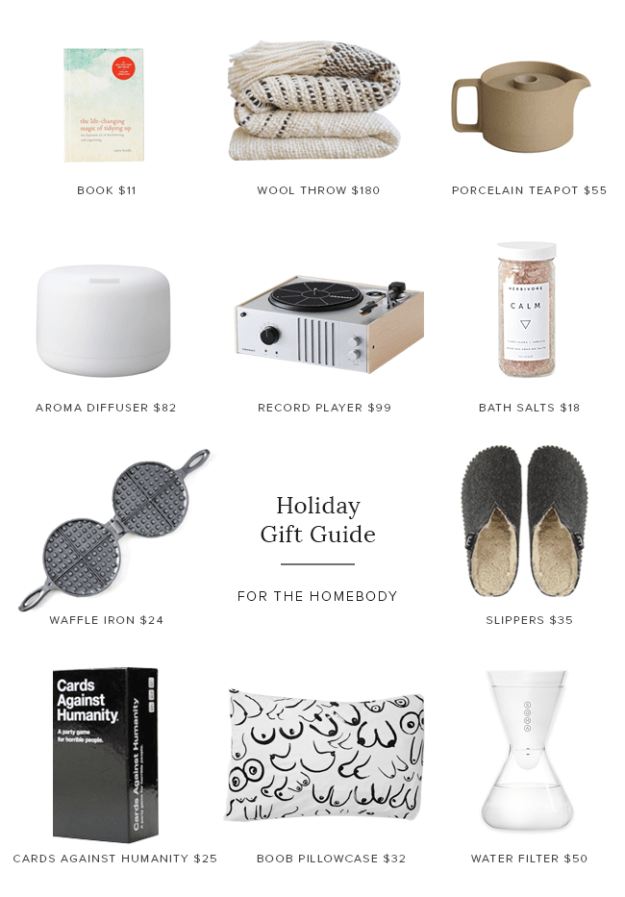 holiday gift guide - for the homebody | almost makes perfect