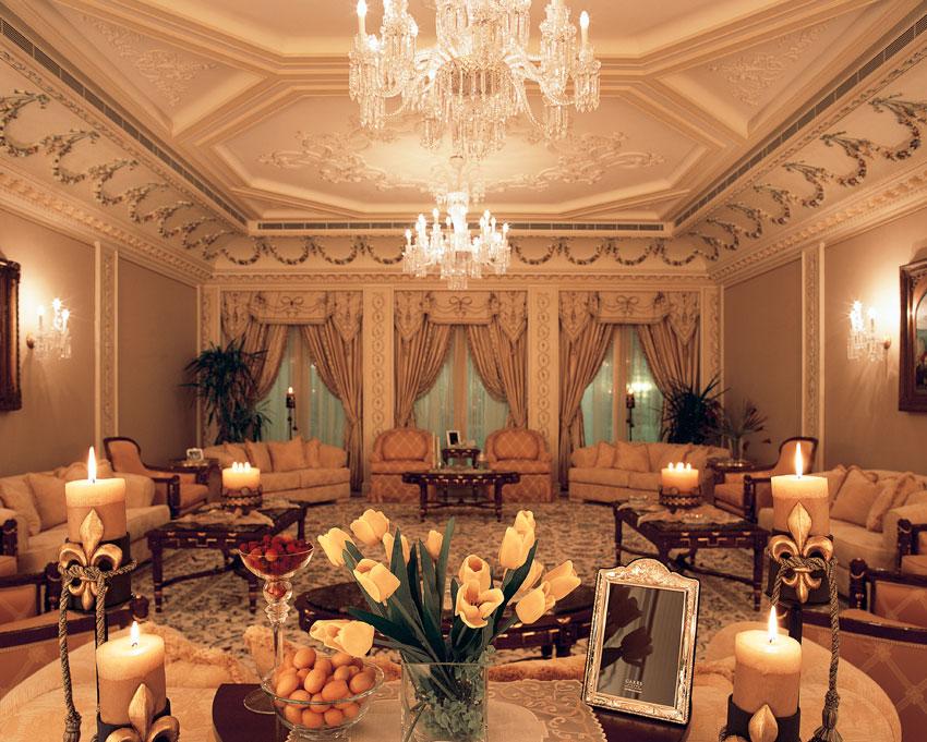 living room in saudi arabia