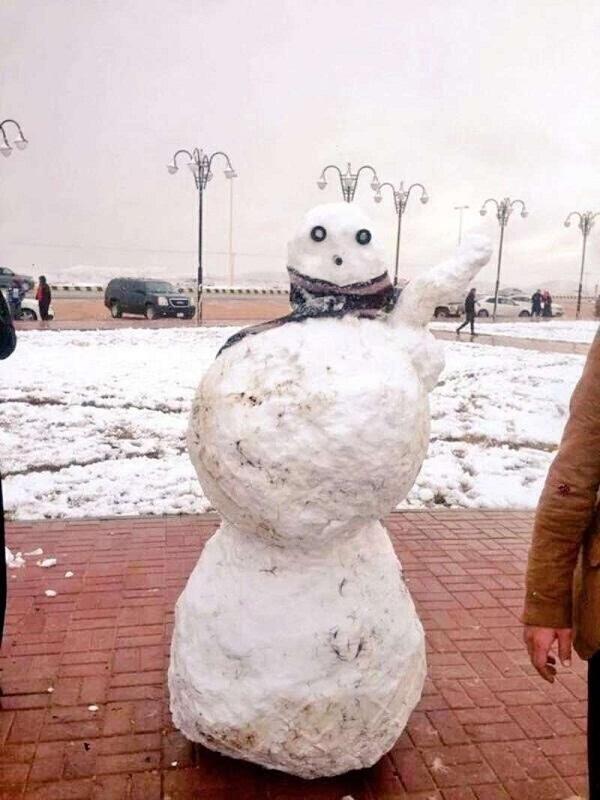 اسطورة رجل الثلج