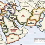 خريطة الشرق الاوسط الجديد سايس بيكو الثانية