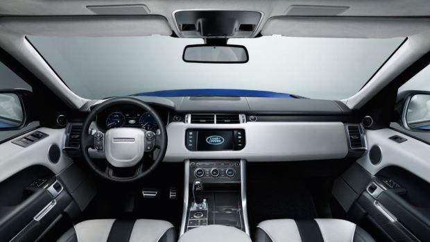 التصميم الداخلي للسيارة رينج روفر سبورت 2017
