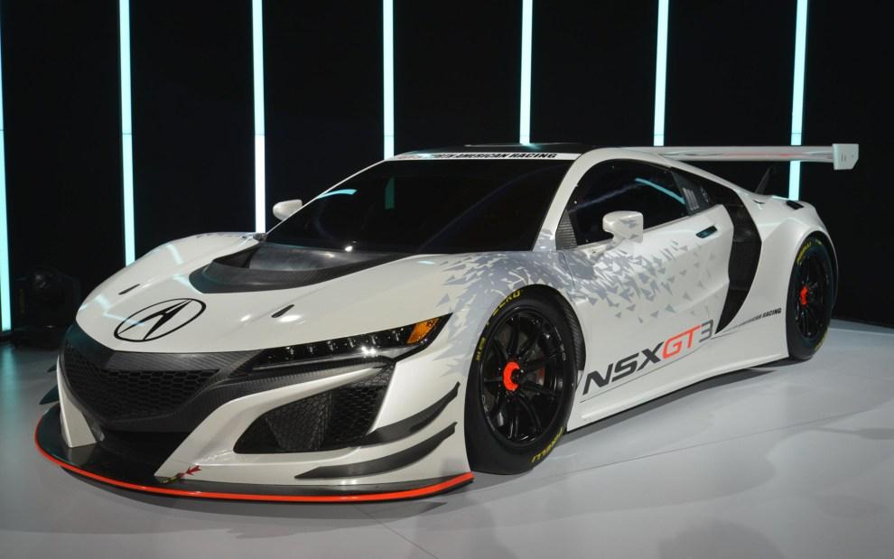 التصميم الخارجي للسيارة هوندا NSX موديل 2017