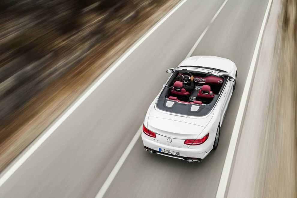 قوة المحرك والاداء للسيارة مرسيدس سي كلاس كشف 2017