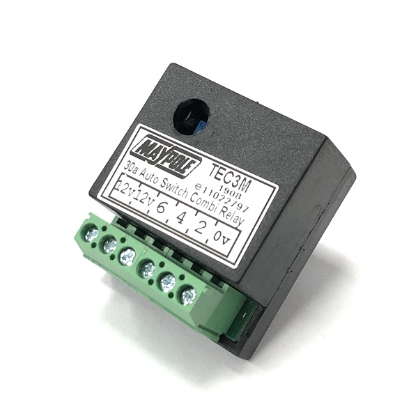 MP2883 - 30A Automatic Dual Split Charge Relay ALM Part Reference