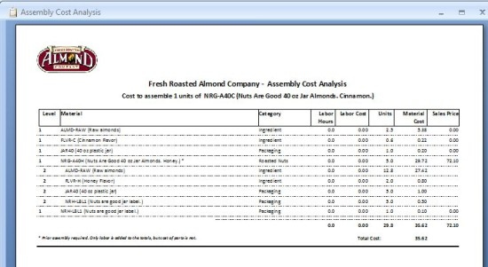 Free ABC Inventory Software Features