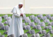 """البابا: الصراعات الراهنة ترقى إلى مستوى """"حرب عالمية ثالثة"""""""