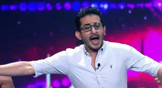 """في أول ظهور له بعد شفائه من السرطان... أحمد حلمي يبكي في أول حلقات """"عرب قود تالينت""""!"""