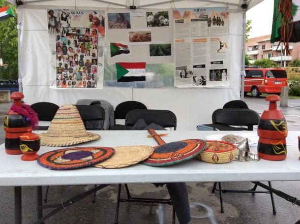خيمة السودان