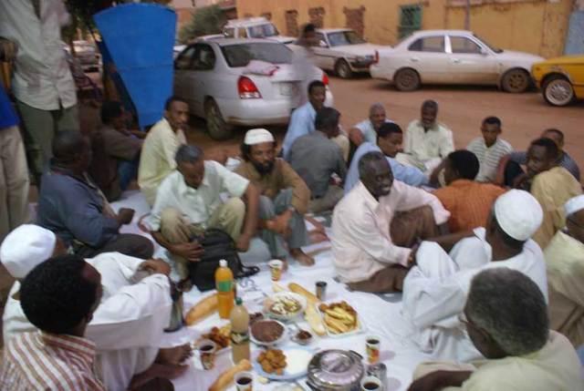 رمضان في شوارع السودان