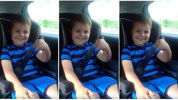 رد فعل طريف لطفل تلقى خبر حمل والدته