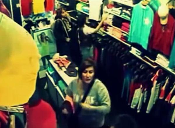 سرقة محل ملابس