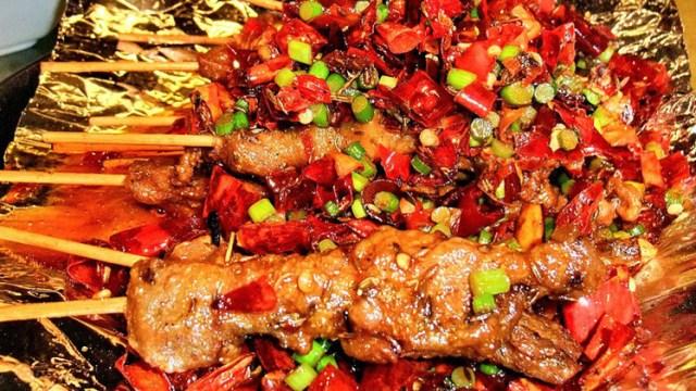 طعام شطة مشوي وجبة طبق صحن اكلة