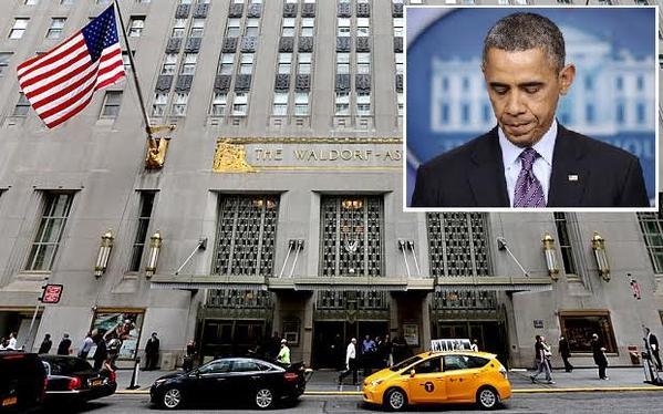 شركة صينية تبعد أوباما